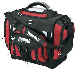 Rapala Extra Large Fishing Tackle Bag - (7) 3700 Size Box Included - NEW!