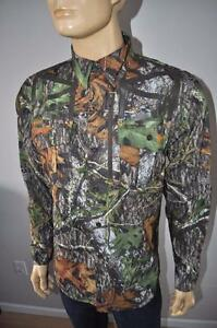 NEW UNDER ARMOUR MOSSY OAK ALLSEASONGEAR QUICK DRYING LOOSE FIT MEN`S SHIRT M