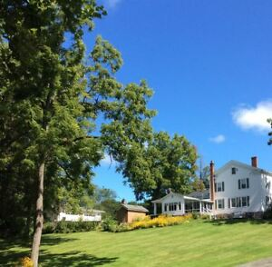AMAZING NY country estate 900' waterfront Barn Wedding Venue Income producing
