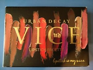 Urban Decay Blackmail Vice Lipstick Palette NEW IN BOX 100% Authentic.