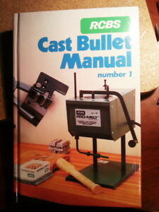 RCBS Cast Bullet Manual 1986 New Old Stock Unopened Ammo reload gun rifle pistol