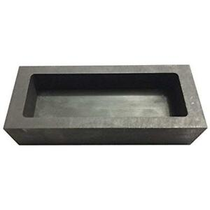 Gold Silver Casting Tools Graphite Ingot Mold Mould Crucible For Melting (1250g)