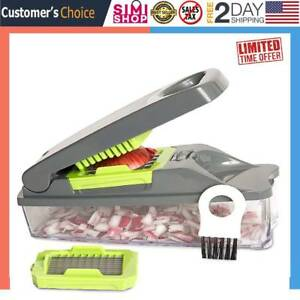 Onion Chopper Pro Vegetable Chopper 30% Heavier Duty Multi Fruit-Cheese-Onion