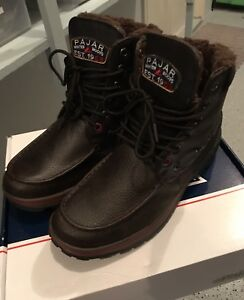 Pajar Men's Basel Winter Snow Boots (Dark Brown) NEW Size EU 46 US 13 in Box