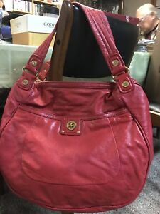 Marc Jacobs Super Soft Red leather handbag Mint Condition!