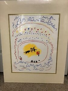 Pablo Picasso Lithograph Signed Numbered $400.00
