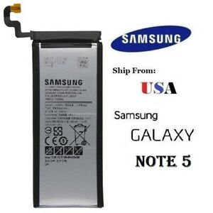 Samsung Galaxy Note 5 Replacement Battery EB BN920ABE 3000mAh $9.85