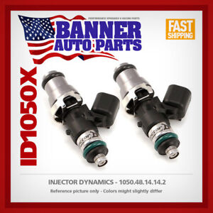 Set of 2 Injector Dynamics id1050.48.14.14.2 for Can Am Outlander ATV 08