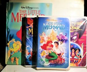 BANNED ART The Little Mermaid + Book + 8 Black Diamond VHS Movies, Poster