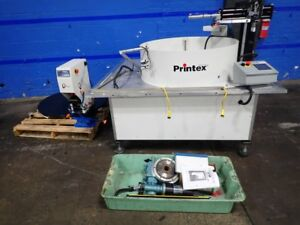 PAD PRINTER Used PRINTEX G260 with rotary table complete with safty lights