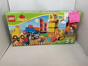 LEGO DUPLO Town Big Construction Site 10813 Best Toy for Toddlers Large