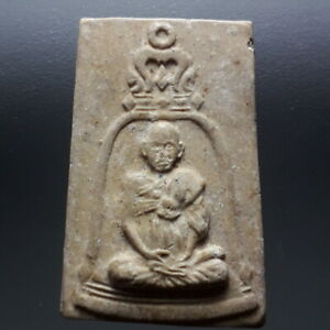 Phra Somdej Lp Toh Sitting in a bell. Wat Rakang Thai Buddha Amulet Magic Rare