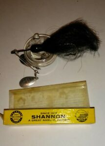 VINTAGE SHANNON TWIN SPINNER vibra Sonic FISHING LURE WITH BOX original nice