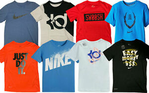 Nike Boys Dri Fit Fabric Active Athletic T Shirt $13.64
