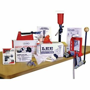 Lee Challenger Breech Lock Single Stage Press Anniversary Kit Reloading #900502