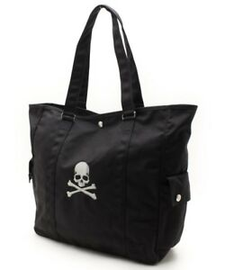 PORTER mastermind JAPAN Collaboration Tote Bag Black Limited