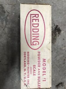 Redding Model #1 Powder and Bullet Scale