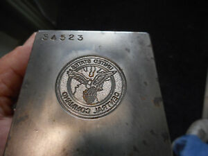 United States CENTRAL COMMAND Jewelry Tool Die Stamp Hub Hob Coin Medal Mold