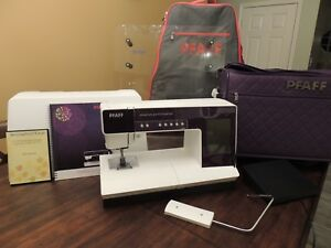 PFAFF CREATIVE PERFORMERS SEWING  EMBROIDERY MACHINE