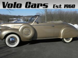 1939 Other Convertible Coupe Rare Dual Side Mounted Spare Tires