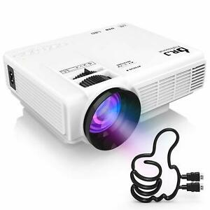 Supported 4Inch Mini Projector With 170