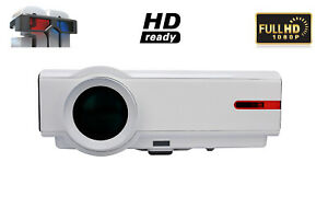 4K Projector 5000 Lumen Home Theater LED Projector HDMI 3D HD Video Projector