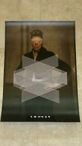 RARE Limited edition 2015 David Bowie Lithograph quot;Lithographquot; $75.00