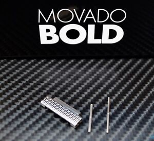 MOVADO Bold LINK PIN TUBE FITS Mesh Bracelet Stainless 3600260 Silver 44mm Watch