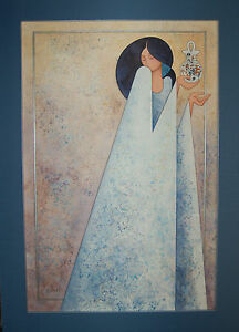 G.E. MULLAN WEDDING VASE ORIGINAL WATERCOLOR~GORGEOUS~BUY BEAUTIFUL ART!