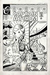 DITKO, STEVE- CAPTAIN ATOM #90 COVER ART, PENCILS AND INKS (LARGE ART) 1967