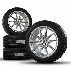 Original Porsche 20 Inch Rims Macan Sport Design Winter Wheels Winter Tires NEW