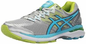 ASICS Women's GT-2000 4 Running Shoe  SilverTurquoiseLime Punch  6.5 M US