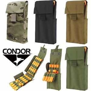 Condor MA61 25 Round 12 Gauge Shotgun Shell Tactical Quick Reload Magazine Pouch