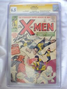 X-Men 1 CGC 6.5 (SS) Signature Series- Stan Lee Autograph 1 of 17 Signed!