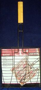 Vintage•2003•Brand New in Pack!•Char-Broil•Triple Fish Basket•Non-Stick Surface
