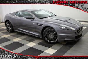 2009 Aston Martin DBS 2dr Coupe 2dr Coupe 38K MILES - 6-SPEED MANUAL - V12 - NAVIGATION - HEATED SEATS - CARBON
