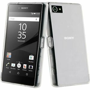 NEW Roxfit Gel Shell Slim Transparent Protective Case for Sony Xperia Z5 Compact