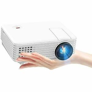 Video Projectors Mini 80 ANSI 2019 With 170-inch Display Supports 1080P Fire