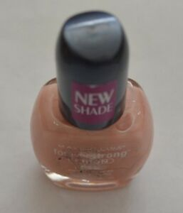 MAYBELLINE FOREVER STRONG IRON NAIL COLOR # PALE PEACH @ $4.99