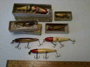 Lot Of 7 C.C.B.Co. Vintage Fishing Lures