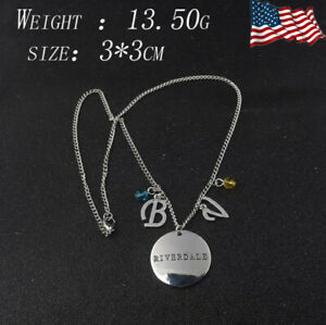 USA Riverdale Necklace TV Show Inspired Betty & Veronica Charm Pendant Jewelry
