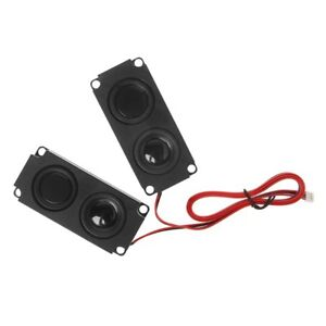 1 Pair Audio Speakers 1045 Sound Speaker LCD TV Loudspeakers 8 Ohm 5W Portable