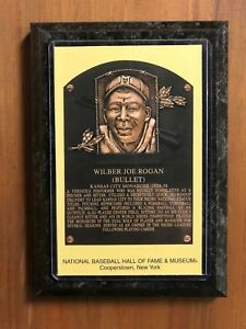 Bullet Rogan - Baseball Hall of Fame Induction - Ready to Hang Wall Plaque