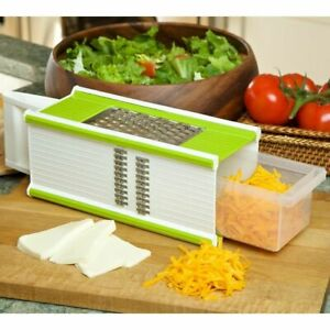 NEW Grate 4 Cheese Grater Mandoline Vegetable Slicer 4 in 1 Kitchen Tool