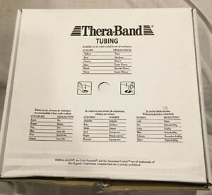 Thera-band Black Resistance Band Tubing 25' Box *Special Heavy Tubing *NEW