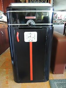Art Deco Roaster Oven and Cabinet with Clock
