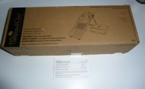 UNUSED WITH BOX Pampered Chef ULTIMATE MANDOLINE® SLICE AND DICE WITH 4 BLADES