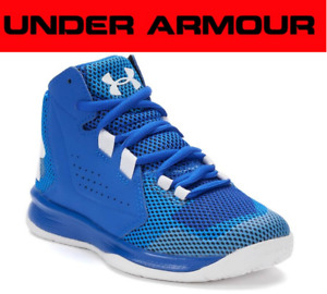 Under Armour Boys UA Torch Fade Basketball Shoes Blue 3020023-400 Size: 11
