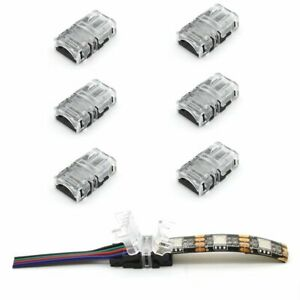 2 4 5 Pin LED Strip Connector for Waterproof Strip Quick Strip Wire Connector