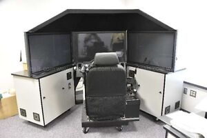 DRIVING SIMULATORS 2 DORON 450 LE POLICE DRIVERS ED SCHOOLS ACADEMIES SAFETY EMS